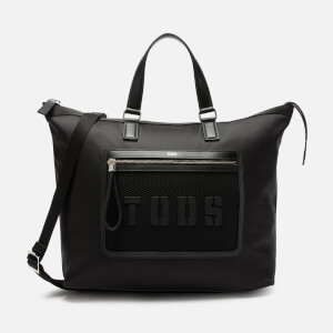 Tod's Men's Shopping Tote Bag - Nero