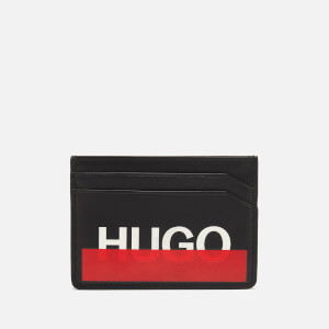 HUGO Men's Roteliebe Card Holder - Black