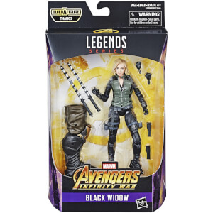 Hasbro Marvel Legends Serie Infinity War Black Widow figuurtje (15 cm)