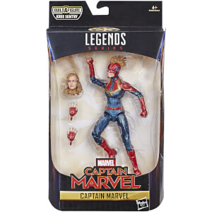 Hasbro Marvel Legends Series Captain Marvel 6-inch Captain Marvel in Costume Figure