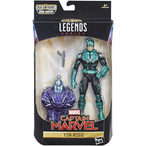 Hasbro Marvel Legends Series Captain Marvel 6-inch Yon-Rogg Kree Figure