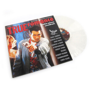 True Romance: Motion Picture Soundtrack (Limited 25th Anniversary Clear with White Splatter Vinyl Edition) LP