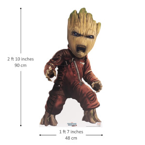 Marvel - Baby Groot Guardian Mini Cardboard Cut Out