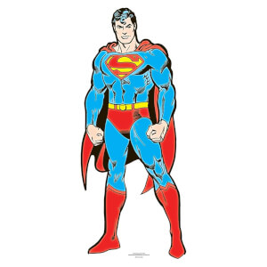 DC - Superman Mini Cardboard Cut Out