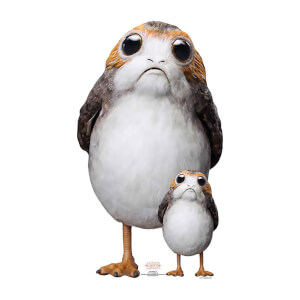 Star Wars - Porg Cardboard Cut Out