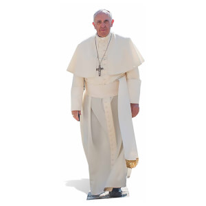 Pope Francis Lifesize Cardboard Cut Out