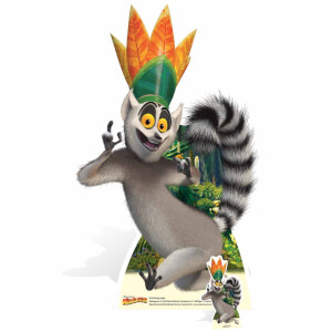 Madagascar - King Julien Lifesize Cardboard Cut Out