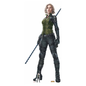 Avengers: Infinity War - Black Widow Lifesize Cardboard Cut Out