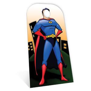 Superhero Stand- In Cardboard Cut Out