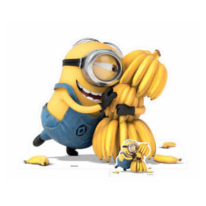 Minion Bananas Cardboard Cut Out