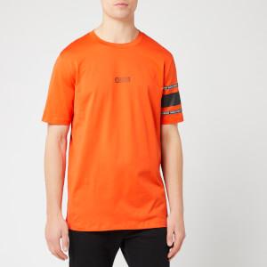 HUGO Men's Durned-U6 T-Shirt - Dark Orange