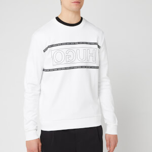HUGO Men's Dicago Sweatshirt - White