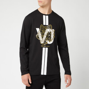 Versace Jeans Men's Long Sleeve T-Shirt - Black