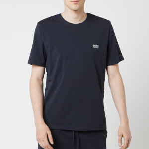 BOSS Hugo Boss Men's Crew Neck Small Logo T-Shirt - Navy