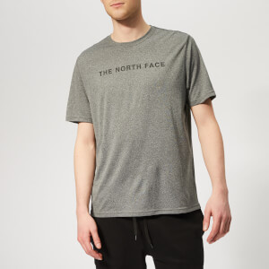 The North Face Men's Train N Logo Short Sleeve T-Shirt - Medium Grey Heather