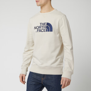 The North Face Men's Drew Peak Light Sweatshirt - Vintage White
