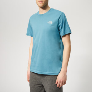 5d5d379892375e The North Face Men s Simple Dome Short Sleeve T-Shirt - Storm Blue