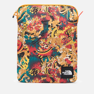 The North Face 's Flyweight 13 Inch Laptop Sleeve - Leopard Yellow Genesis Print