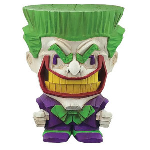 Figurine Cryptozoic en vinyle – DC Comics Teekez Series1 – Joker 8cm