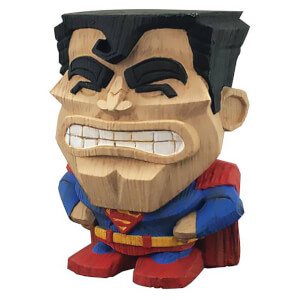 Figura vinilo Superman DC Comics (8 cm) Serie 1 - Teekeez Cryptozoic