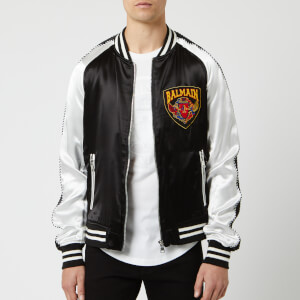 86f8ab6b4 Balmain Men's Souvenir Jacket - Blanc/Noir