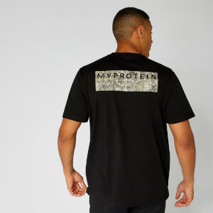 Myprotein Box Logo Regular T-Shirt - Black
