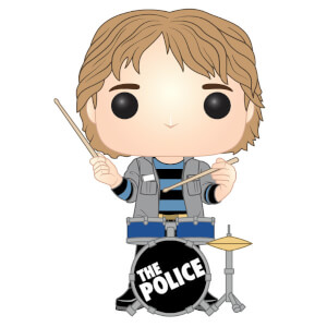 Pop! Rocks The Police - Stewart Copeland Pop! Vinyl Figur