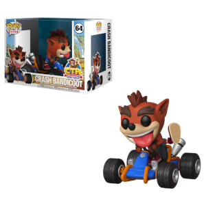 Figura Funko Pop! Ride - Crash Racing Teams - Crash Bandicoot