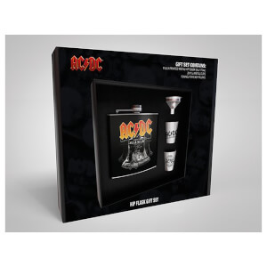 AC/DC Hip Flask Set