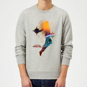 Captain Marvel Nebula Flight Sweatshirt - Grey