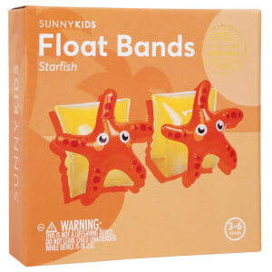 Sunnylife Starfish Float Bands - Yellow/Orange