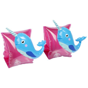 Sunnylife Narwhal Float Bands - Pink/Blue