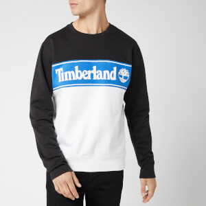 Timberland Men's Cut And Sew Sweatshirt - Black