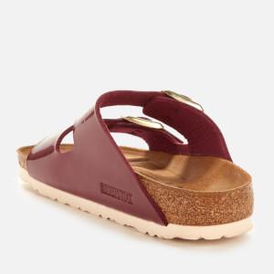 Birkenstock Women's Arizona Patent Slim Fit Double Strap Sandals - Bordeaux: Image 2