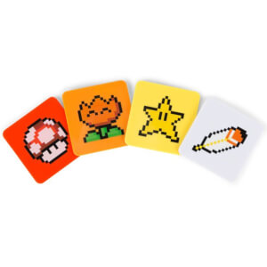 Set di Sottobicchieri Super Mario Power Up