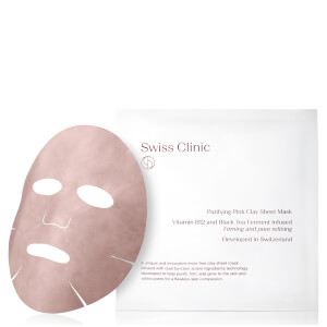 Swiss Clinic Purifying Pink Clay Sheet Mask 34g