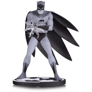 Figurines DC à collectionner – Batman™ Black & White – Batman™ par Jiro Kuwata 16 cm
