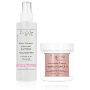 Duo Pâte lavante volumisante et Brume volume naturel de Christophe Robin
