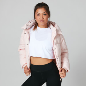 Myprotein Core Puffer Jacket - Pearl Blush