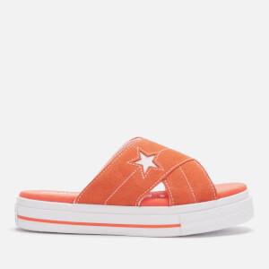 Converse Women's One Star Sandals - Turf Orange/Egret/White