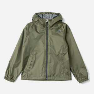 The North Face Kids' Zipline Rain Jacket - New Taupe Green