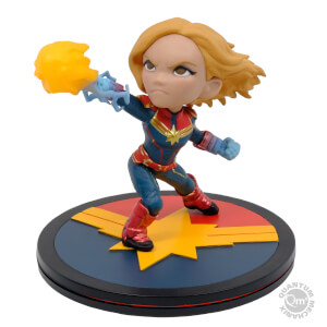 Captain Marvel Q-Fig Diorama Figur