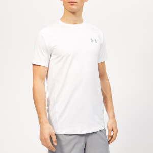 Under Armour Men's Mk1 Shorts Sleeve T-Shirt - White/Steel