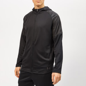 Under Armour Men's MK-1 Terry Full Zip Hoodie - Black