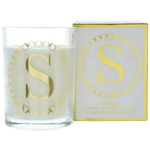 Candlelight Initial Glass Tumbler