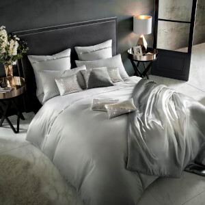 Kylie Minogue Messina Quilt Duvet Cover - Quartz