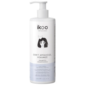 ikoo Shampoo - Don't Apologize, Volumize 1000ml