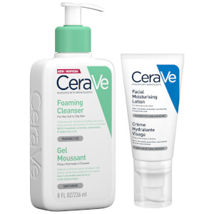 Dúo Cleanse the Day Away de CeraVe