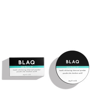 BLAQ Teeth Whitening Charcoal Powder 30g