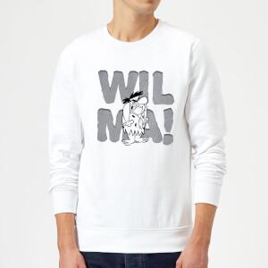 The Flintstones WILMA! Sweatshirt - White